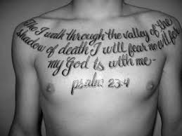 40 psalm 23 designs for bible verse ink ideas