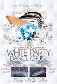 fourth of july birthday invitations pre 4th of july white party dance cruise nyc tickets mon jul 3