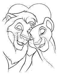 lion king coloring book kids coloring