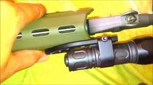 ar 15 light mount iwc smc flashlight mount for ar 15 magpul railguard youtube