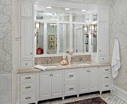 Bathroom Vanity With Side Cabinet The Woodshop Of Avon Traditional Bathroom Vanity And