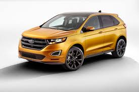 ford edge crossover 2015 ford edge review