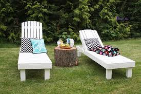 Diy Chaise Lounge White 35 Wood Chaise Lounges Diy Projects