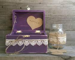 wedding wishes box wedding wish box etsy