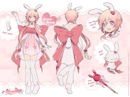 hearte bunny reference sheet by kaze hime deviantart com on
