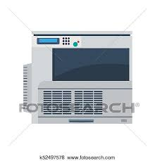 photocopieur bureau clipart imprimante machine bureau copie vector impression