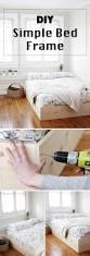 simple bed frame diy susan decoration