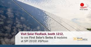 California Travel Tracker images Solar flexrack will feature first solar series 6 racking solutions png