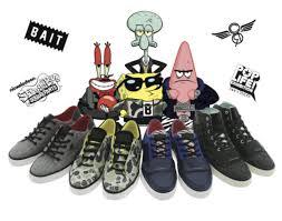creative recreation x bait x spongebob collection freshness mag