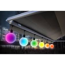 led color changing globe string lights with remote meilo creation led g40 globe string lights 6 count big 5 diameter