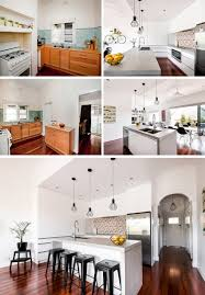 Kitchen Islands That Look Like Furniture See What These 12 Old And Dated Kitchens Look Like After Receiving