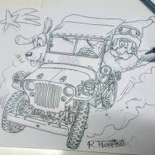 ww2 jeep drawing 80 4wd explore 4wd lookinstagram web viewer