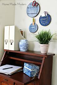 denim days home interior denim pocket organizers trend alert home made modern