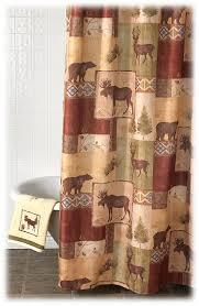 Outdoors Shower Curtain by Bacova Mountain Lodge Shower Curtain Bass Pro Shops The Best
