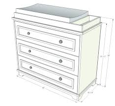 Standard Changing Table Height Changing Table Dimensions Ellenhkorin Info