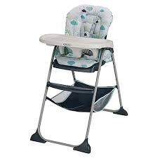 graco slim snacker high chair in stratus buybuy baby