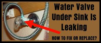 Kitchen Sink Leaking From Faucet Water Supply Valve Kitchen Sink Is Leaking How To Fix