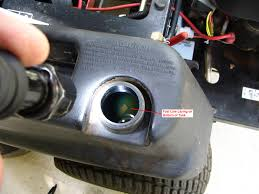 how to diagnose and repair a broken lawnmower fuel line