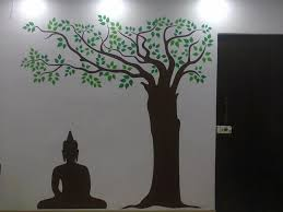 portfolio kakshyaachitra wall decal manufacturers and suppliers buddha under tree wall decal