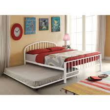 What Is A Trundle Bed Better Homes And Gardens Lillian Twin Daybed White Walmart Com