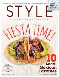 style el dorado county foothills may 2015 by style media group