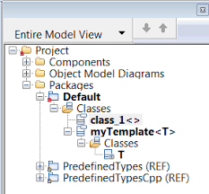 ibm how to use template class specialization in rational rhapsody