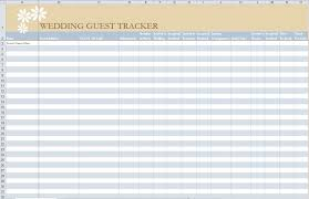 guest list template free business template