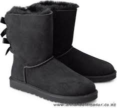 ugg bailey bow black sale cheap ugg boots bailey bow black 86ar womens shoes boat