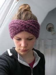knitted headband pattern knitting patterns galore turban headband