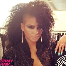 curly shaved side hair 50 great cassie hairstyles photos strayhair
