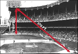 yankee stadium home run lights mickey mantle the american dream comes to life the story behind