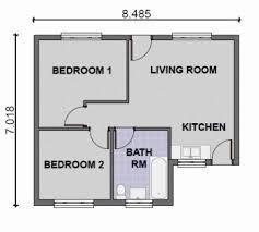 simple two bedroom house plans two bedroom house plans in kenya