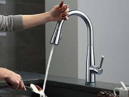 touch faucets for kitchen best touch sensor kitchen faucet home design ideas and pictures