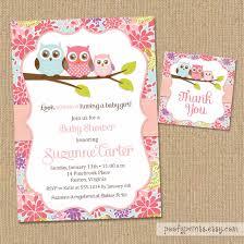owl baby shower invitations template free themesflip com