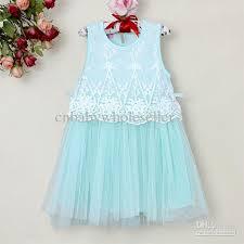2017 2013 new kids dress lace girls princess summer beautiful