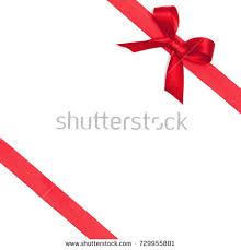 gift wrap ribbon decorative bow diagonally ribbon on stock vector 600094976