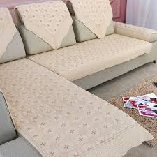 non slip cover for leather sofa luxury europe cotton couch cushions cover fabric thickness anti slip