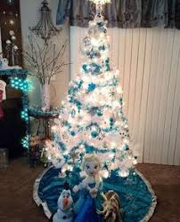 Frozen Christmas Decorations Frozen Themed Christmas Tree I Created Shanny U0027s Pins