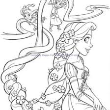 disney princess coloring pages print rapunzel archives mente