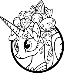 my little pony princess cadence coloring pages getcoloringpages com