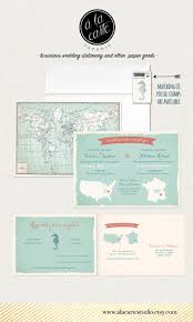 Wedding Invitations And Rsvp Cards Bilingual Destination Wedding Invitation Rsvp Card World Map