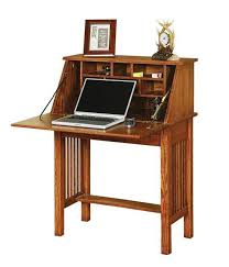 Secretarys Desk Handcrafted Amish Desk By Dutchcrafters Amish Furniture