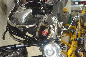 new gas tank bsa rgs