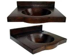 integrated sink vanity top vanity top with integrated copper sink 24 rts cvtrs