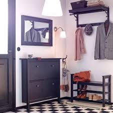 Entrance Hall Bench Attractive Cabinets For Hallways Shoe Racks Ikea Space Saving