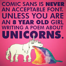 Comic Sans Meme - mrw i see comic sans used in a professional environment imgur