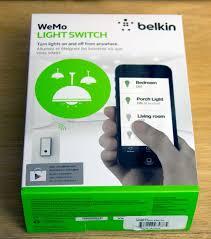 wemo wi fi smart light switch belkin wemo switch and netcam bundle sam s club philodemus