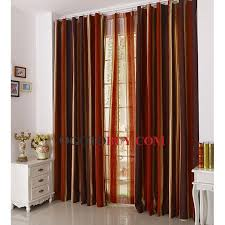 Fancy Window Curtains Ideas Discount Chenille Striped Window Curtains Clearance Buy Multi