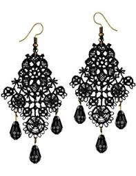 Black And Silver Chandelier Earrings Amazon Com 1928 Jewelry Jet And Black Crystal Chandelier Earrings