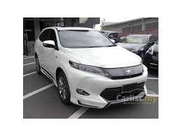 toyota car models 2014 toyota harrier 2014 hybrid premium advanced 2 5 in kuala lumpur
